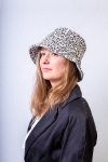women every day casual hat leopard