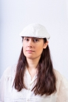 casquette anglaise femme blanc