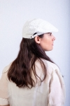 women white duckbill cap